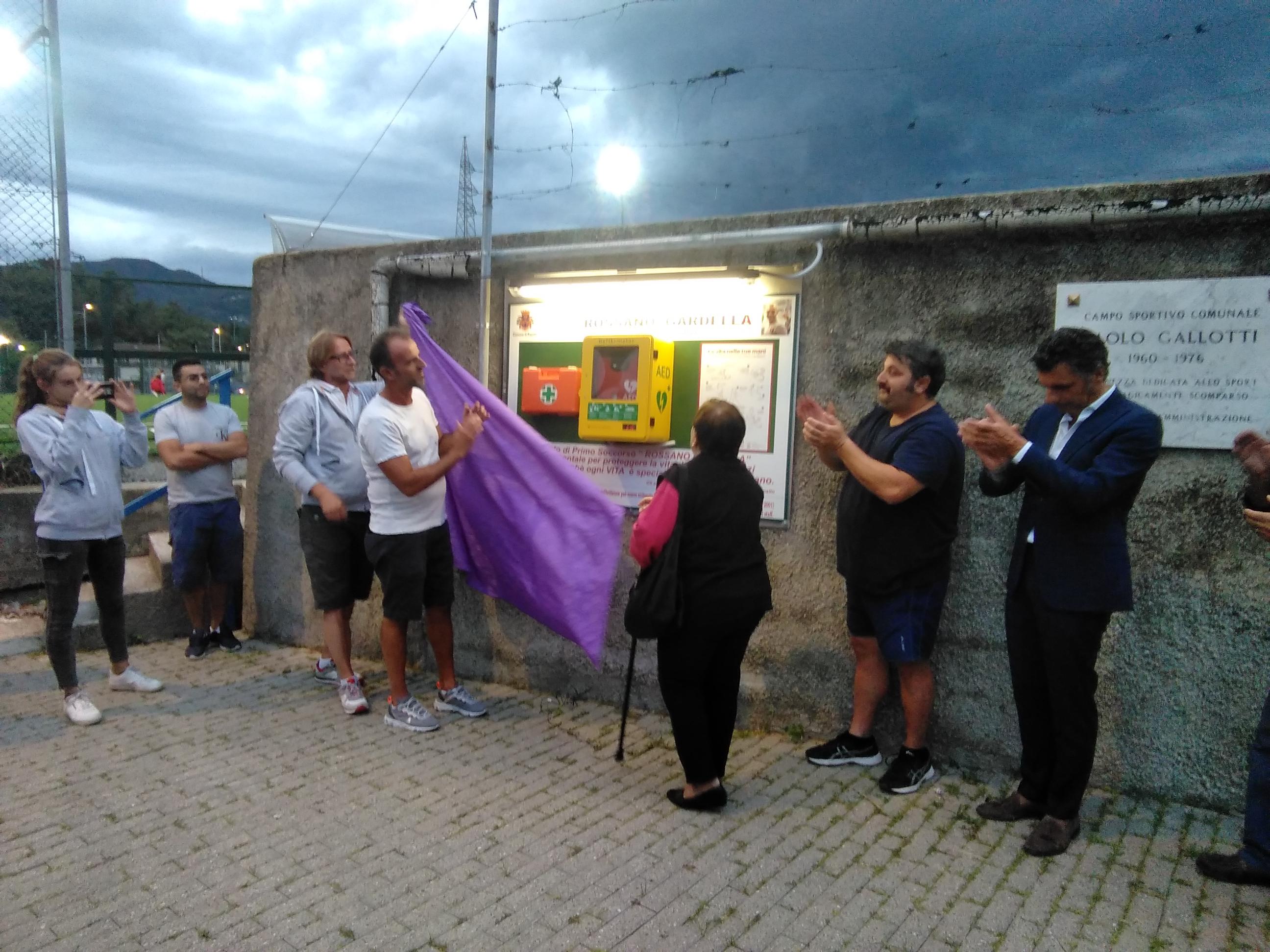 Sport Cardioprotetto ...Campo Gallotti Rapallo