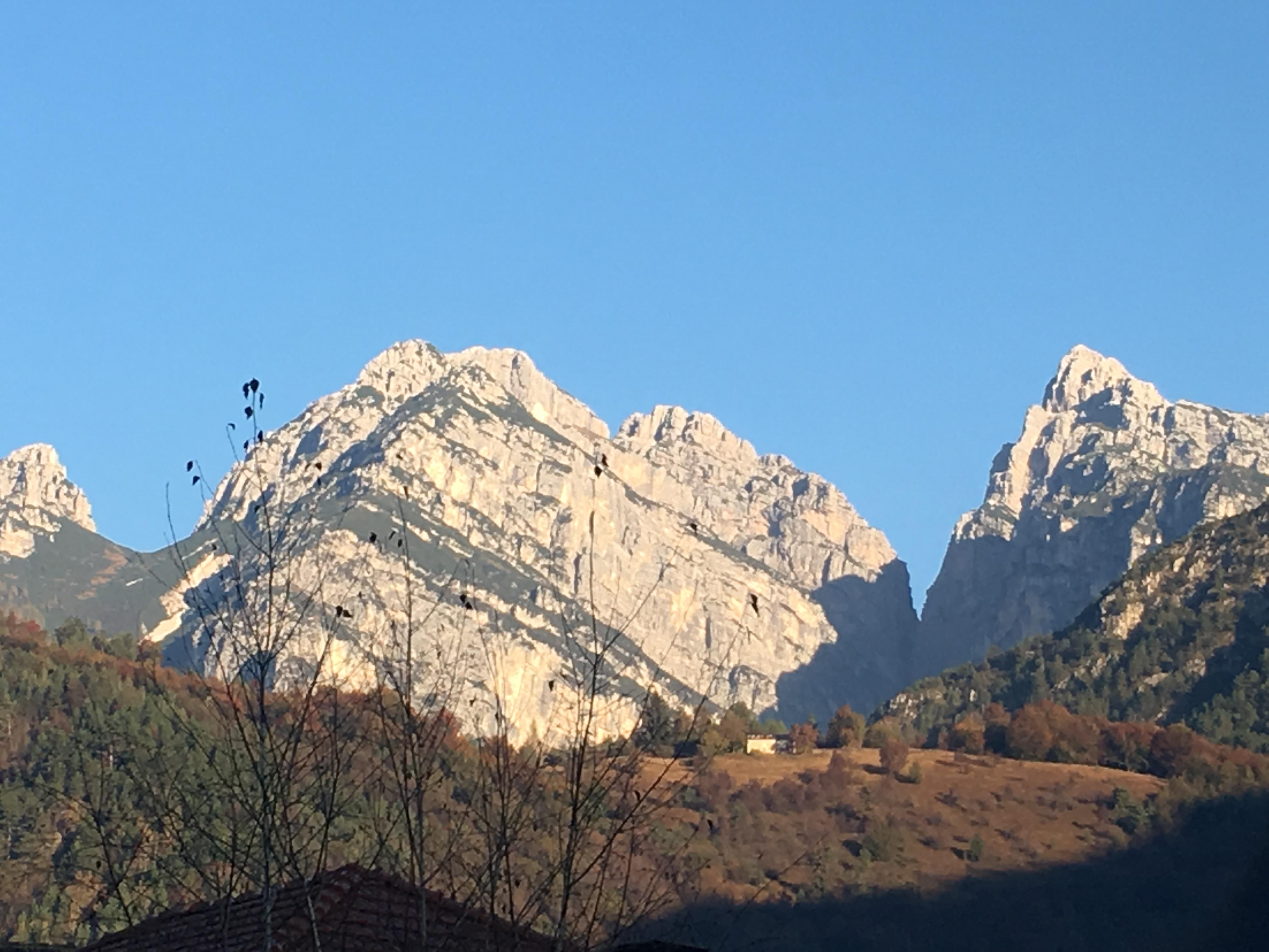 le montagne