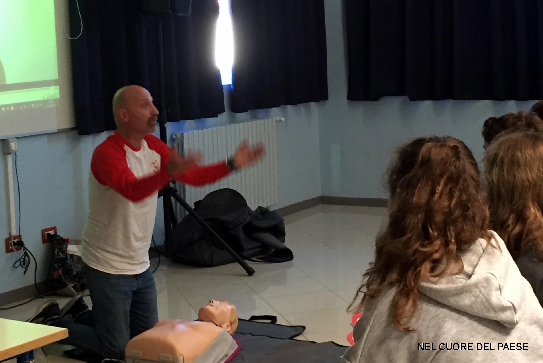 Incontro con gli studenti della scuola media 2° anno