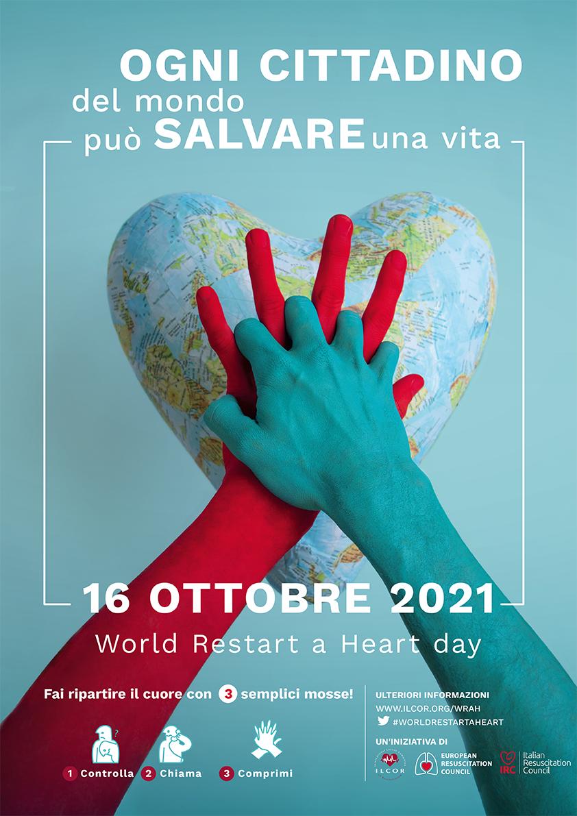 World Restart a Heart 2021- Poster